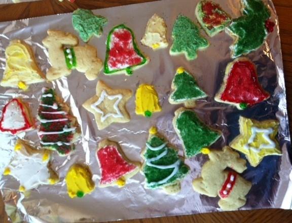 Cookies by me and mom - 2012-01-sideways