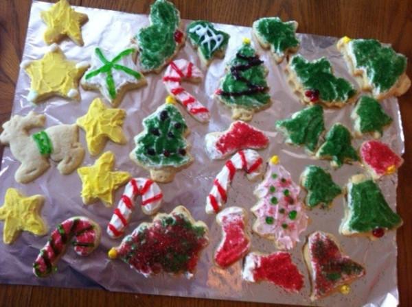 Cookies by me and mom - 2012-02-sideways