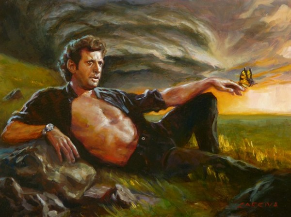 The Jurassic Park Art Show - artist unknown
