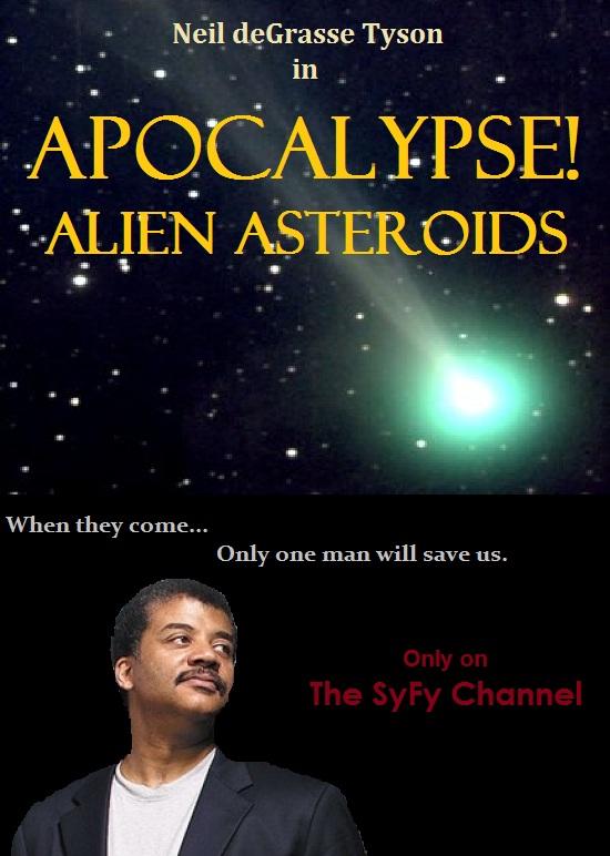 Apocalypse! Alien Asteroids - Original Poster - dodger_sister