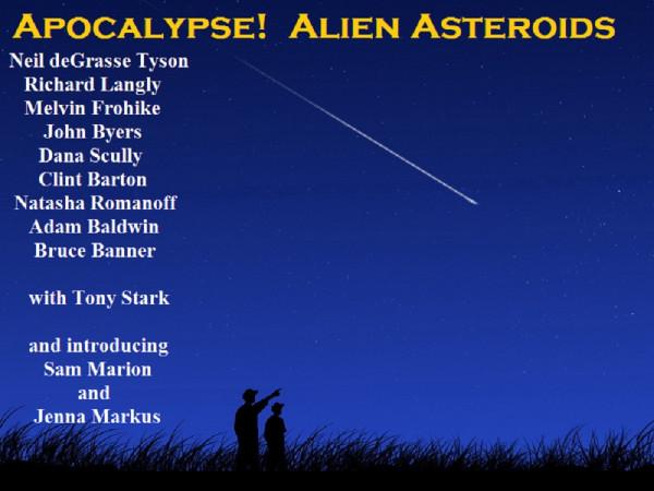 Apocalypse! Alien Asteroids - Poster 3 - dodger_sister