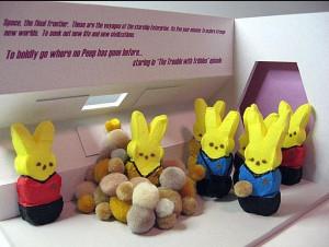 Peeps - Star Trek Style