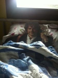 Bilbo takes a nap