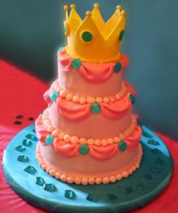 Princess Peach Cake