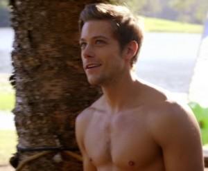 Tim Pocock - shirtless