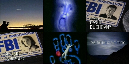 X-Files Original Opening Credits Sequence