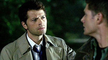 Cas & Dean omg his face