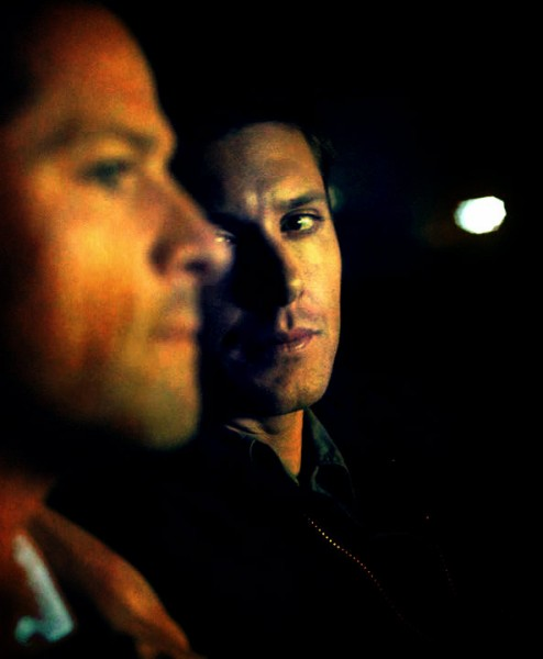 Dean loves Cas gaze