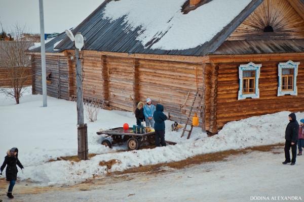 Масленица в деревне Лудорвай