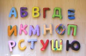 фетр, алфавит