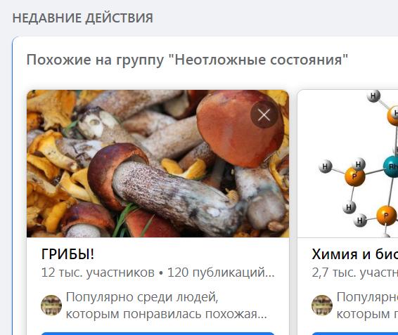 ИИ о грибах записки ложечкой Фолькмана