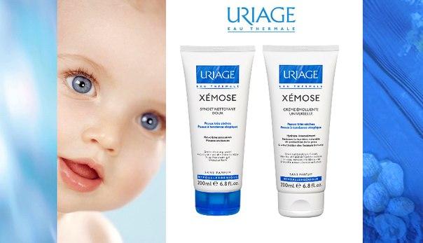 Uriage Xemose Уход за сухой и атопичной кожей