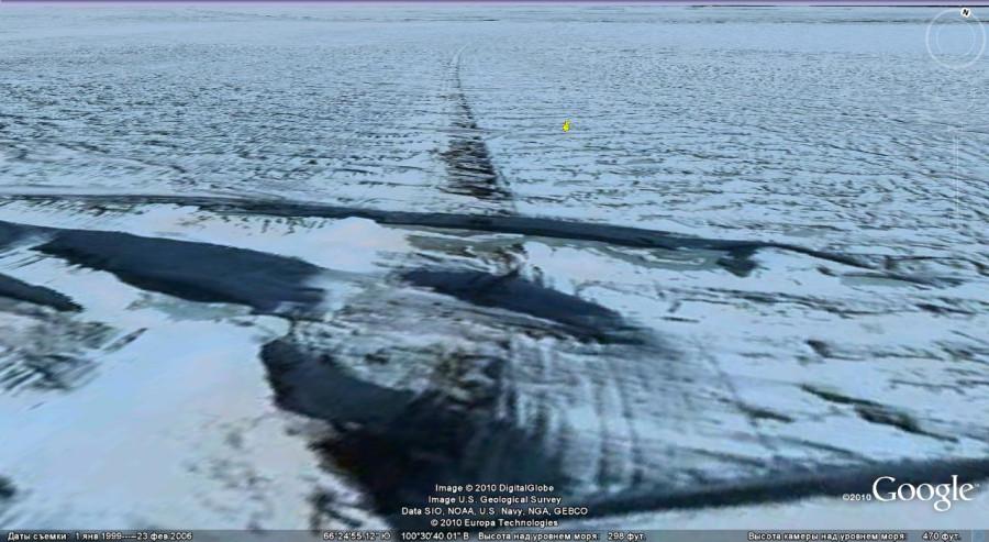 странные дороги антарктиды