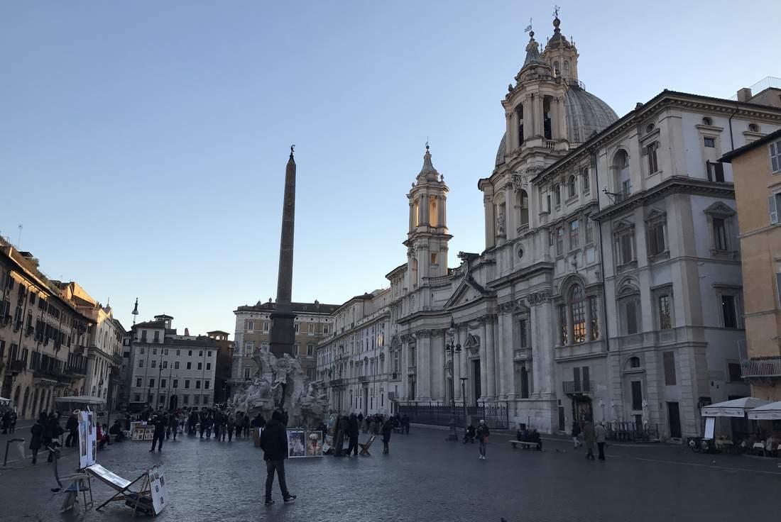 71 открытка из Рима