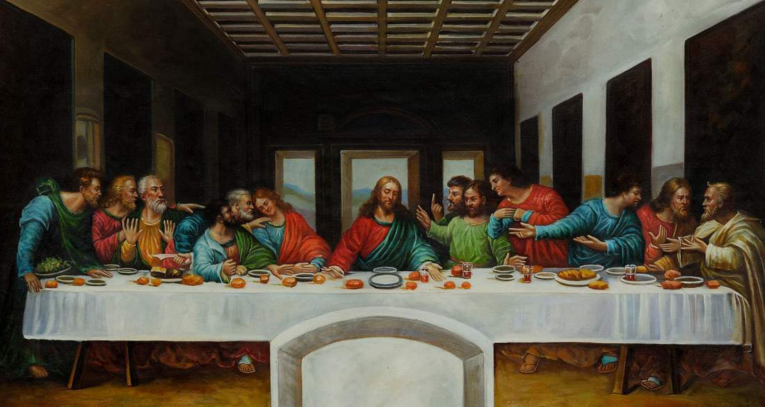 a critique of the painting the last supper essay