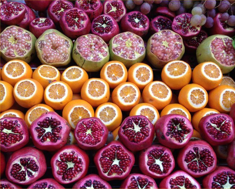 Гранаты и апельсины