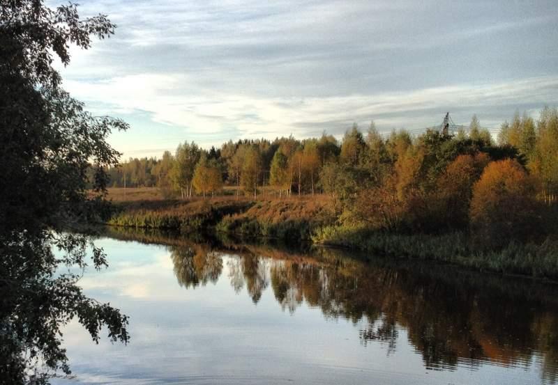 Река Дубна течёт на запад
