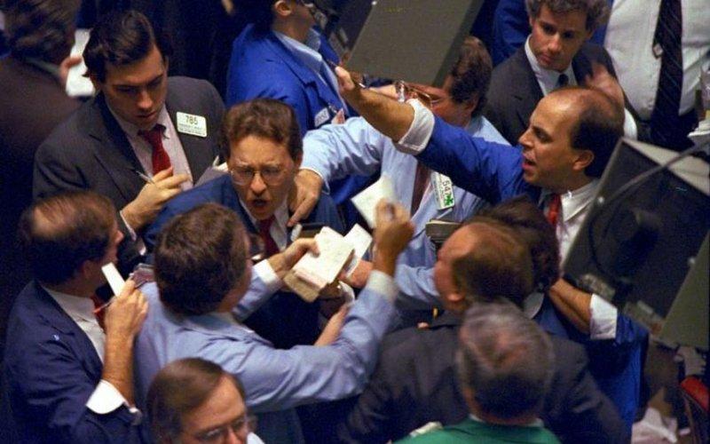 Черный понедельник на Wall Street