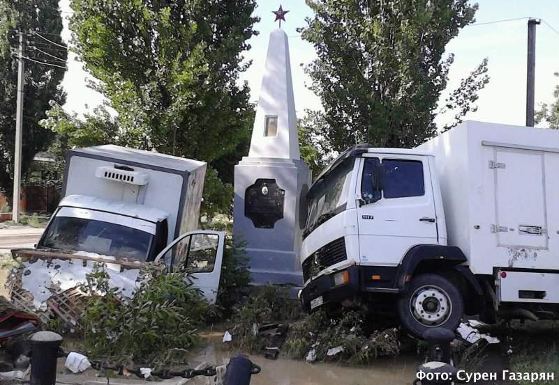 Наводнение в Крымске. Фото Сурена Газаряна