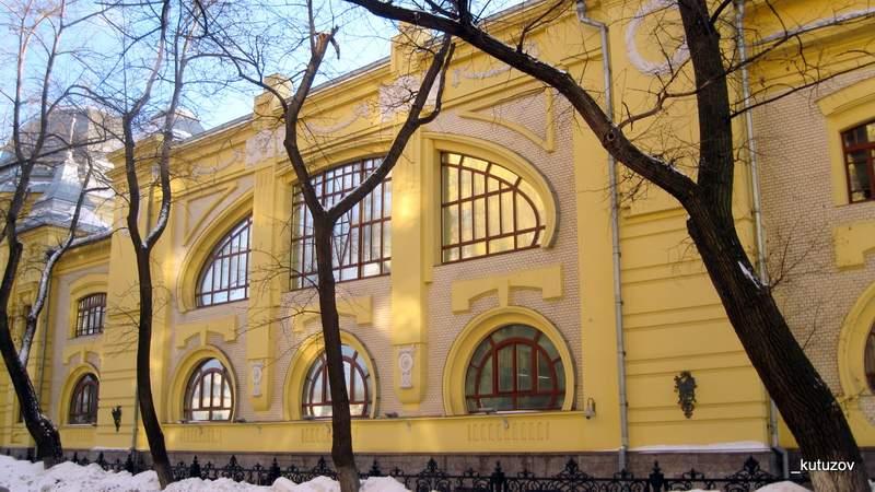 Здание ОАО Мечел, бывшее Эльдорадо. Фото Николая Троицкого