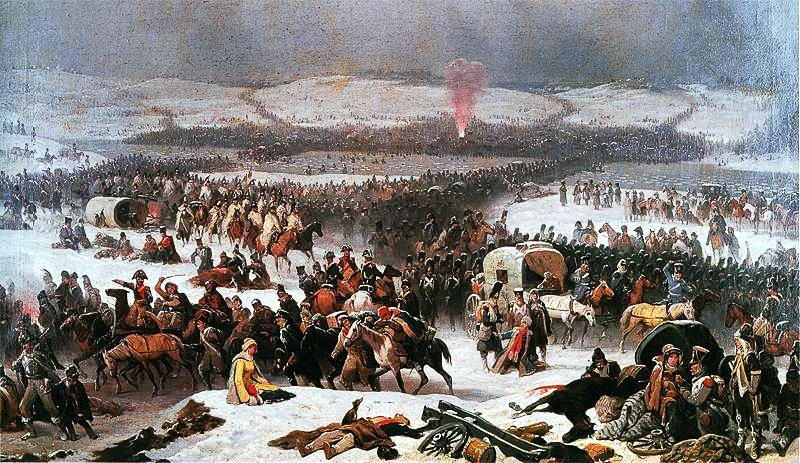 Януарий Суходольский: Великая Армия переходит через Березину