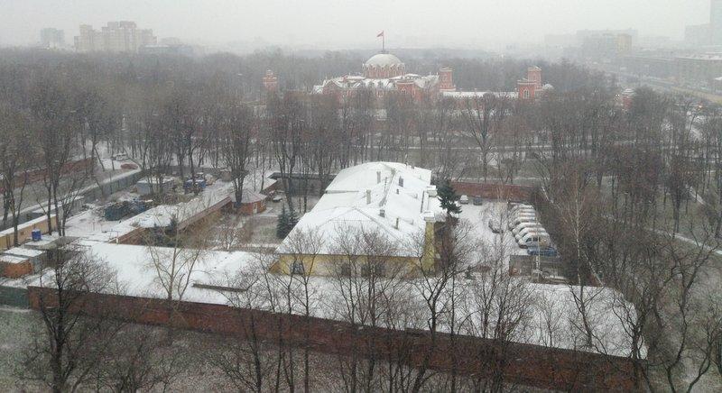Петровский парк, ноябрь 2012