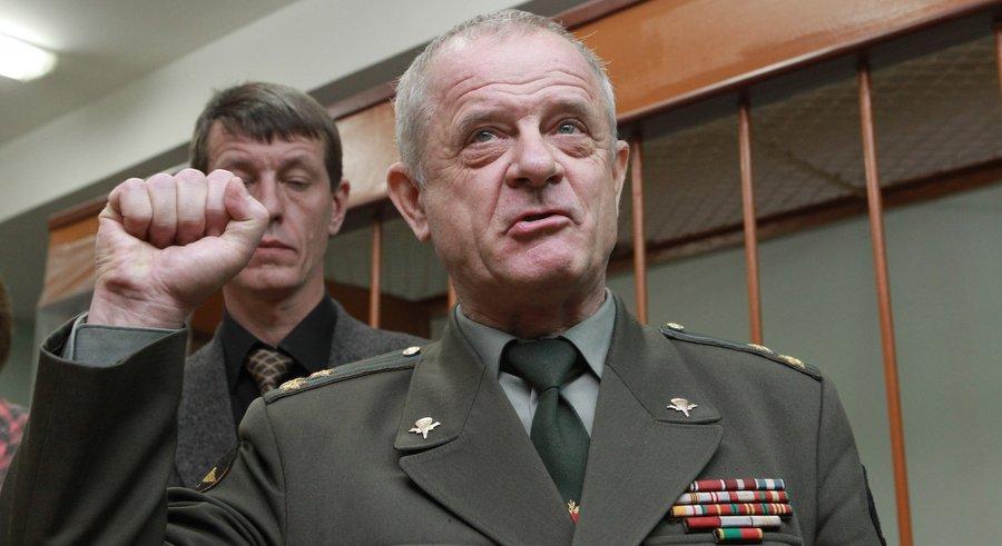 Полковник Квачков в Лефортовском суде. Фото Андрея Стенина, РИА Новости