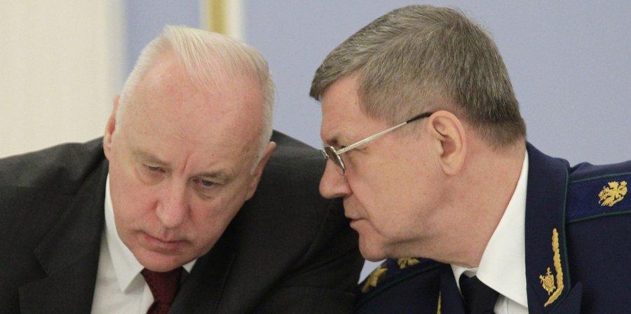 Бастрыкин и Чайка. Фото Михаила Климентьева, РИА Новости