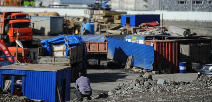 Строительство олимпийского объекта «Роза Хутор» в Сочи. Фото: Владимир Астапкович, РИА «Новости»