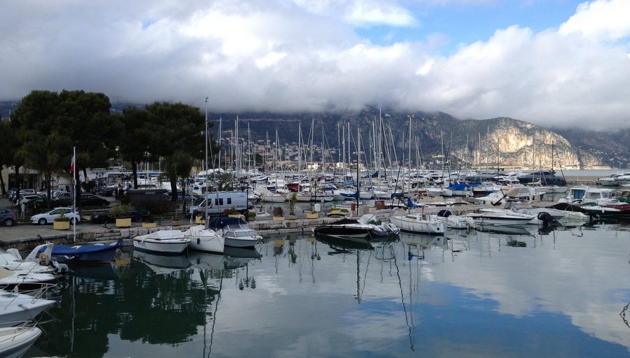 Лодки в порту Saint Jean Cap Ferrat