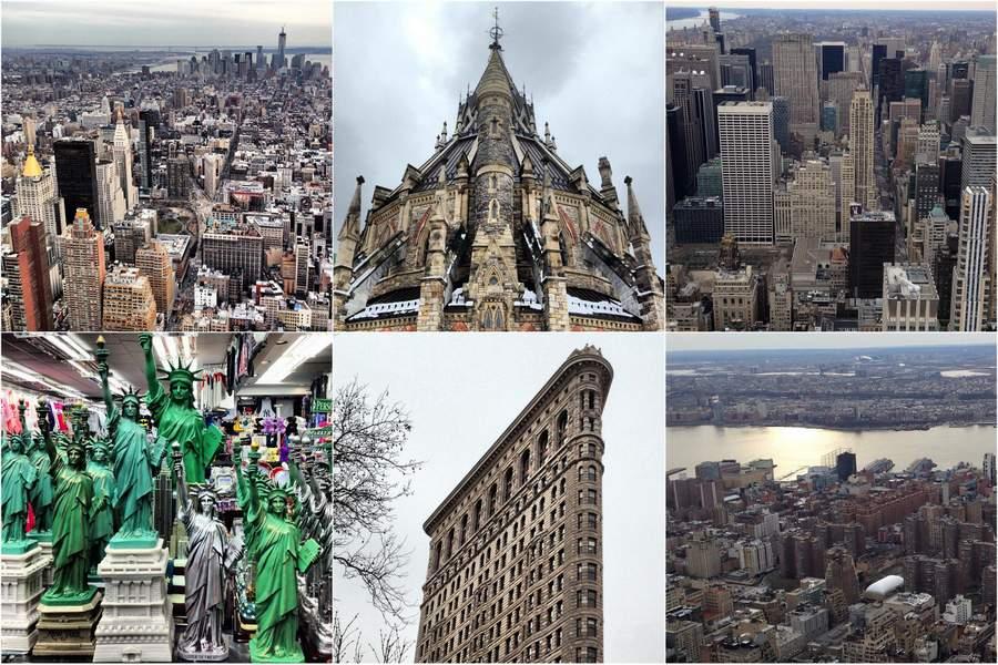 Нью-Йорк и Оттава, снимки из Инстаграма