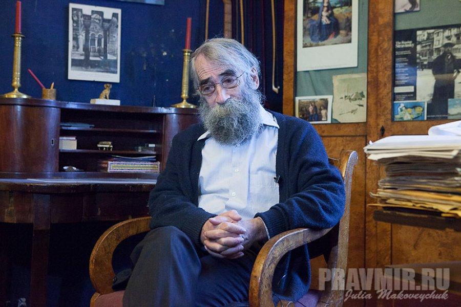 Виктор Живов, фото Юлии Маковейчук из Православия и мира