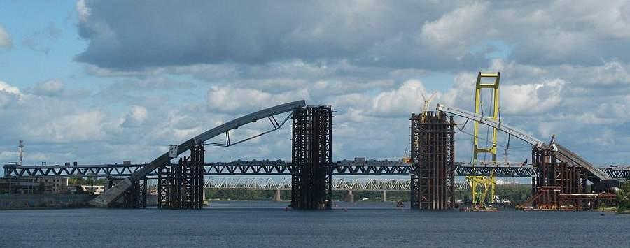 Недостроенный Подольско-Воскресенский мост