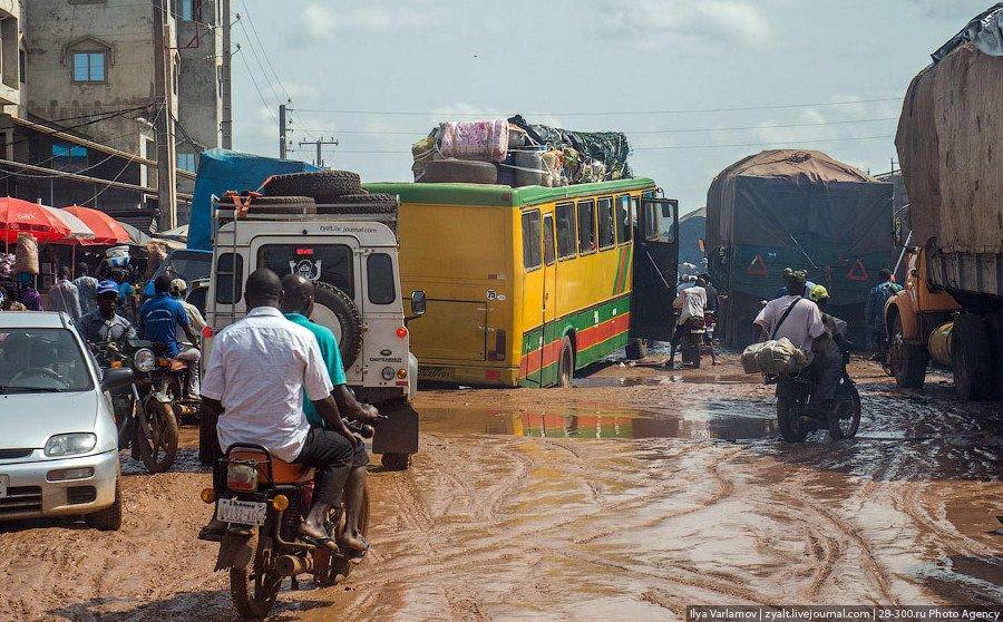 Граница Нигерии, фото Варламова
