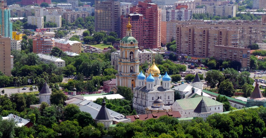 Новоспасский ставропигиальный мужской монастырь