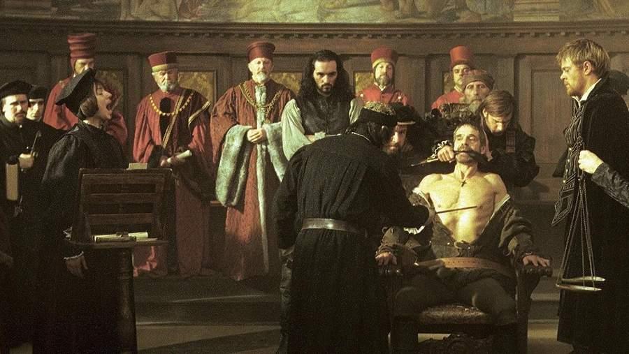 Кадр из фильма «Венецианский купец» 1994 года