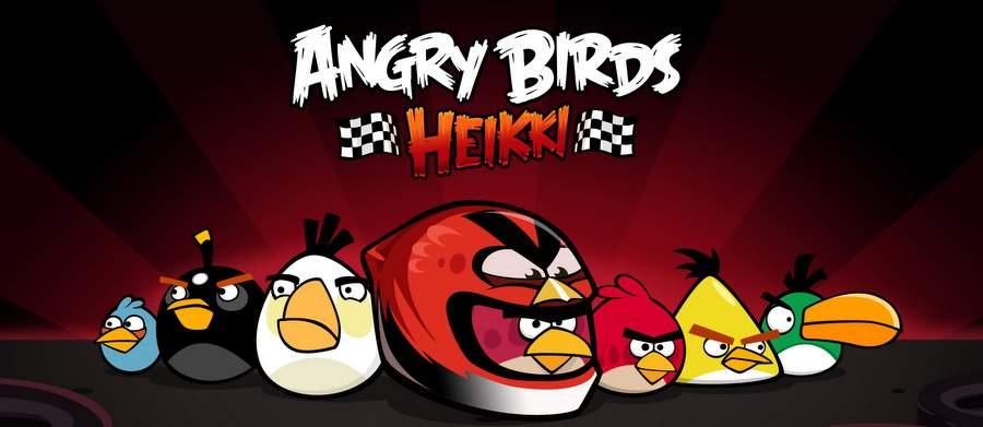 Angry Birds: обои
