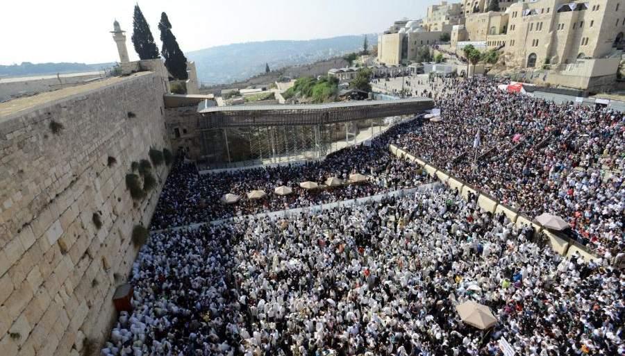 Евреи у Стены Плача