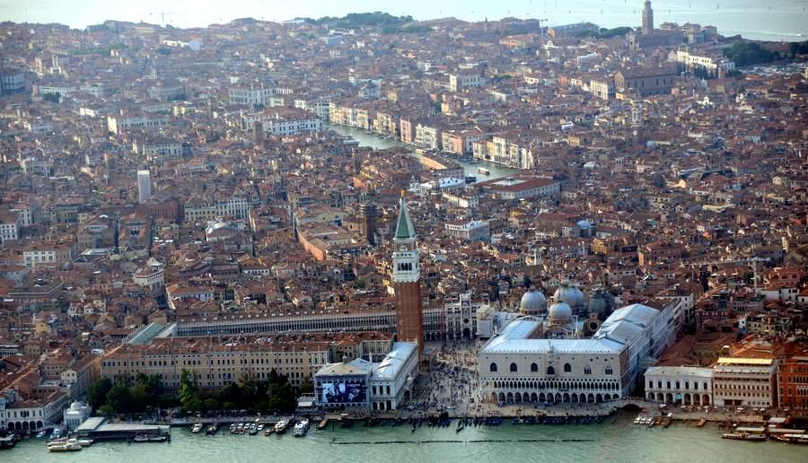 Венеция с вертолёта