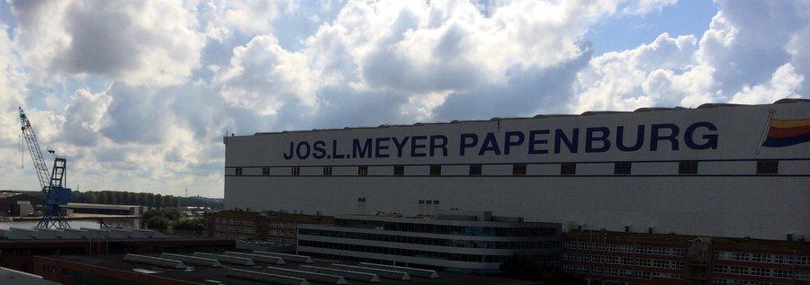 Лазерный цех Мейер Верфт