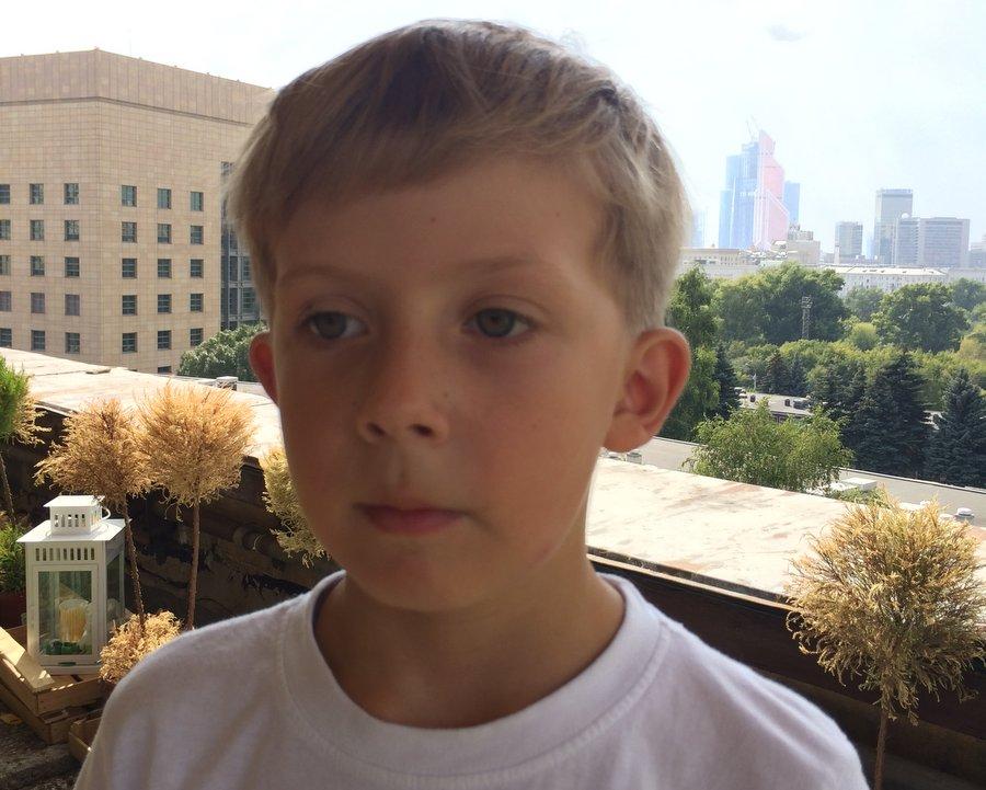 Лёва в Наркомфине, август 2014