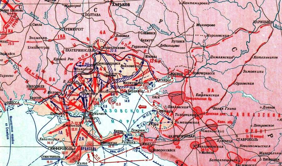 Гражданская война на Украине, 1920