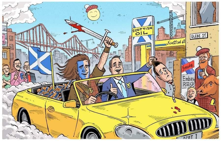 Независимость Шотландии в картинках