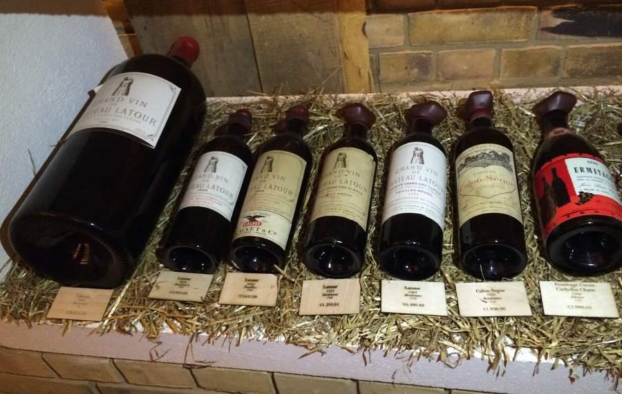 Красные французские вина в лондонском магазине Чичваркина