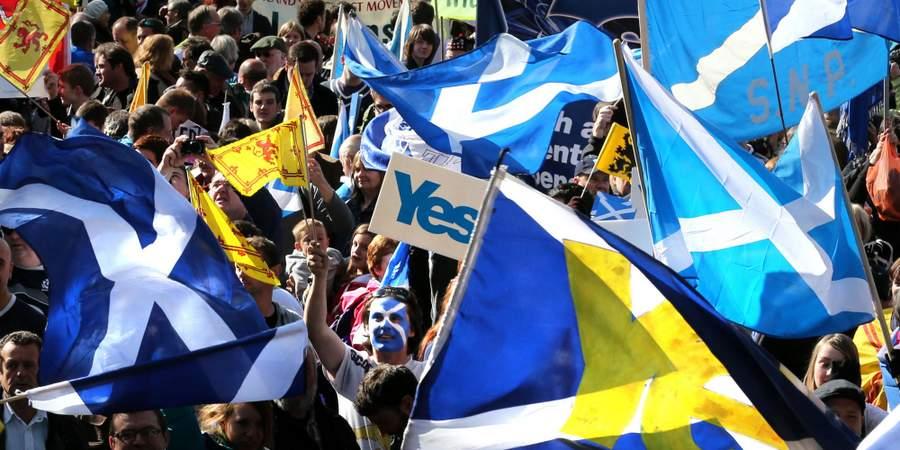 Шотландцы за независимость