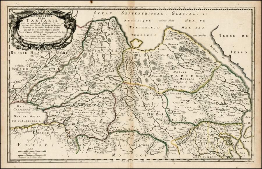 Карта Татарии