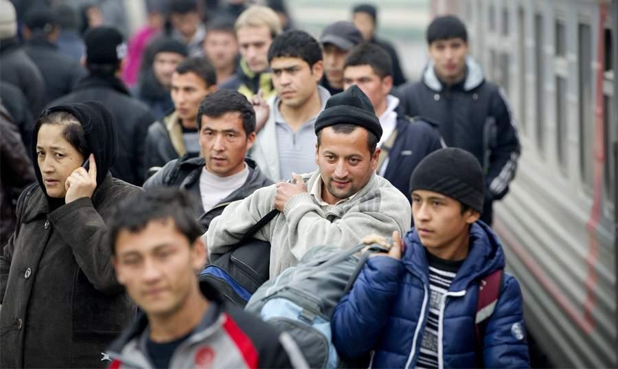 Мигранты. Фото: Русский курьер