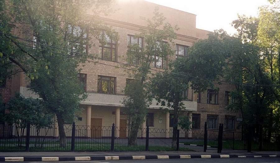 Школа №201 до разрушения