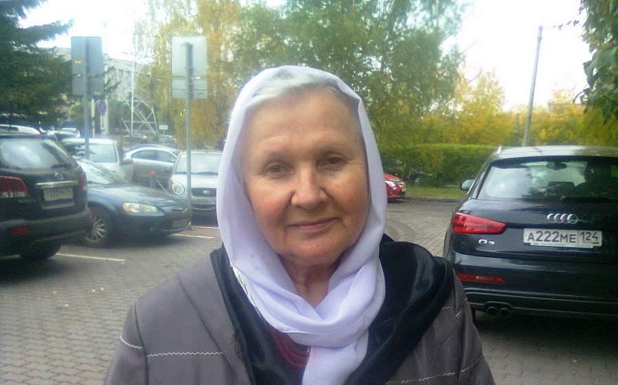 Алевтина Хориняк. Фото Елены Лебедевич, Русская планета