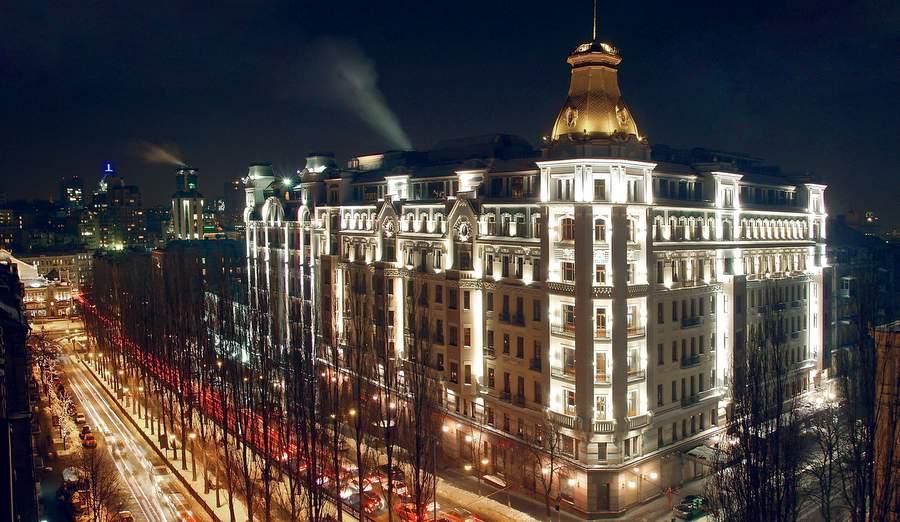 Бывшая гостиница «Украина» в Киеве